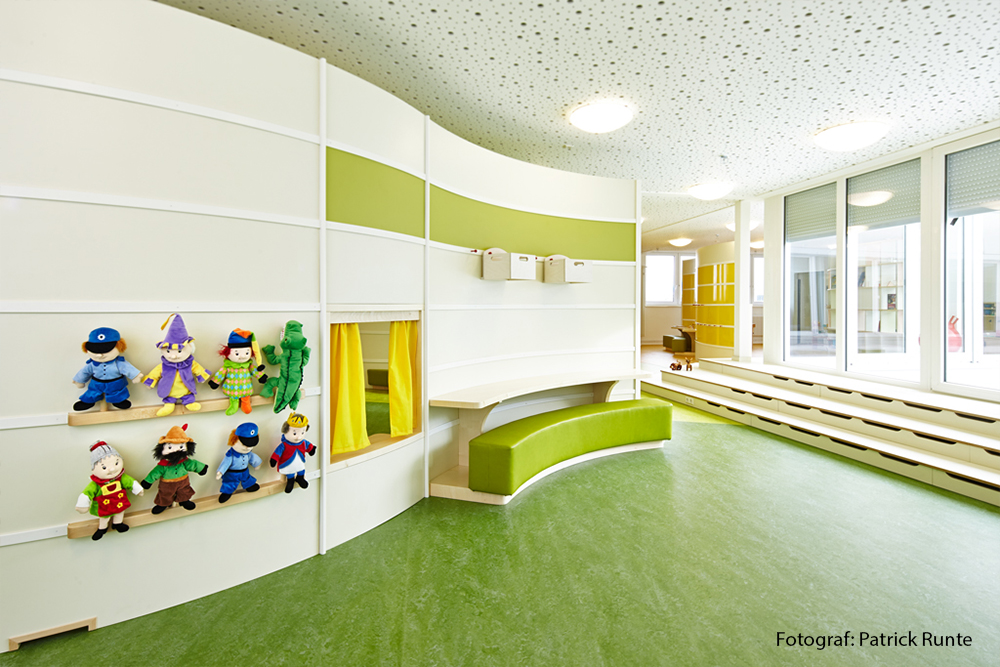 kindergarten hamburg wandsbeker quarree designstudio k. Black Bedroom Furniture Sets. Home Design Ideas